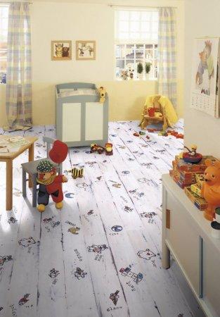 Виниловый ламинат - в детской комнате!