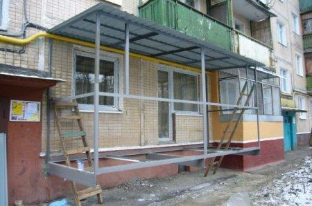 Как построить балкон?